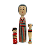 Kokeshi. RARE!!!! CUTE & Quirky Kokeshi Dolls. Traditional Kokeshi. Kijiyama. Tsugaru.