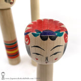 Kokeshi. BRAND NEW! Traditional Kokeshi Dolls by Toshio Takada. TALL!