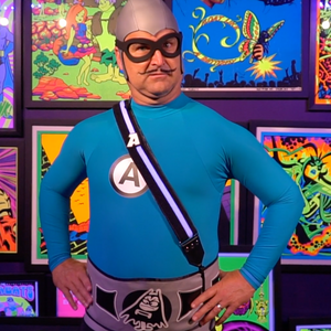 Open image in slideshow, Deluxe Aquabats Powerbelt + Strap For Kids & Adults!
