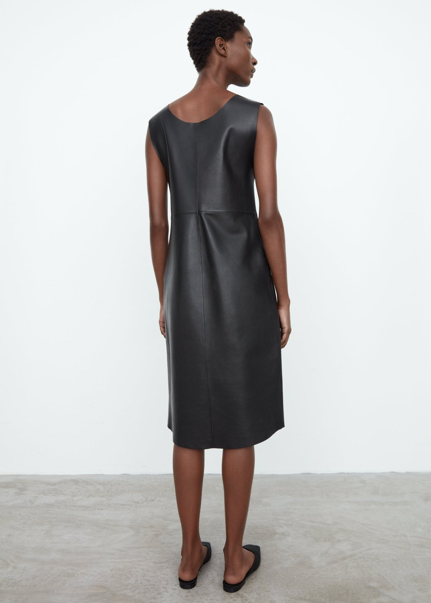 Mezel leather dress