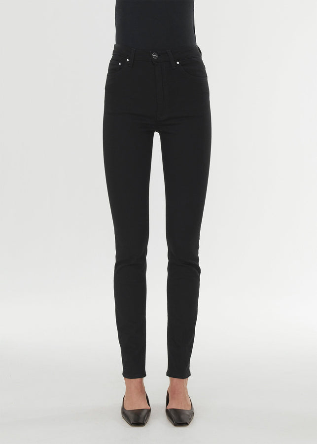 Skinny fit denim stay black