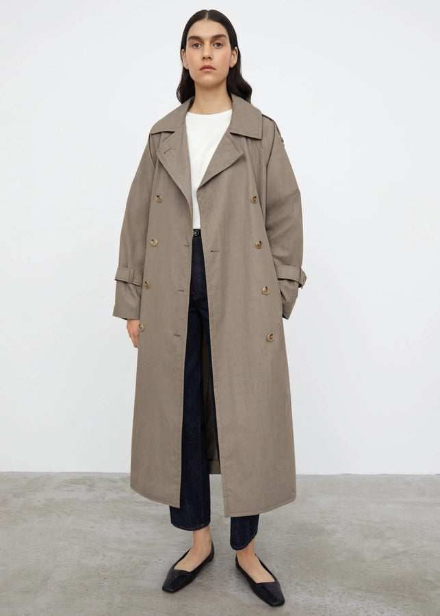 Techno cotton trench concrete