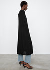 Knitted drape cape