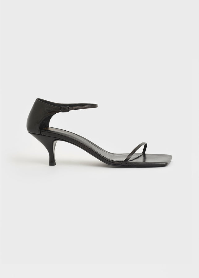 The Strappy Sandal black