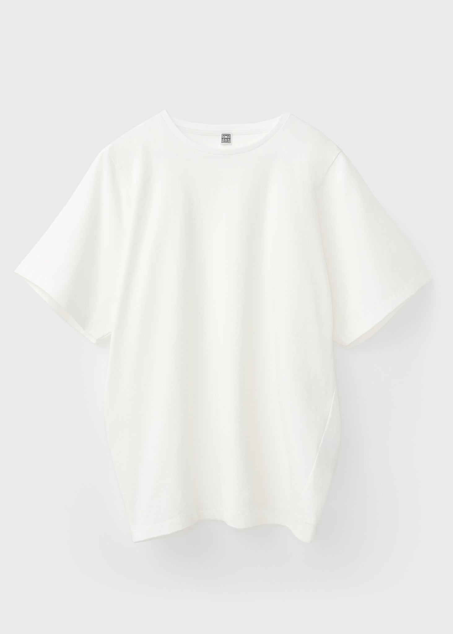 Oversized cotton tee off-white