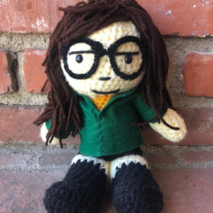 Daria Crochet Doll