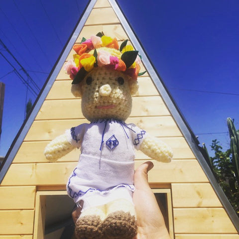 Midsommar May Queen doll
