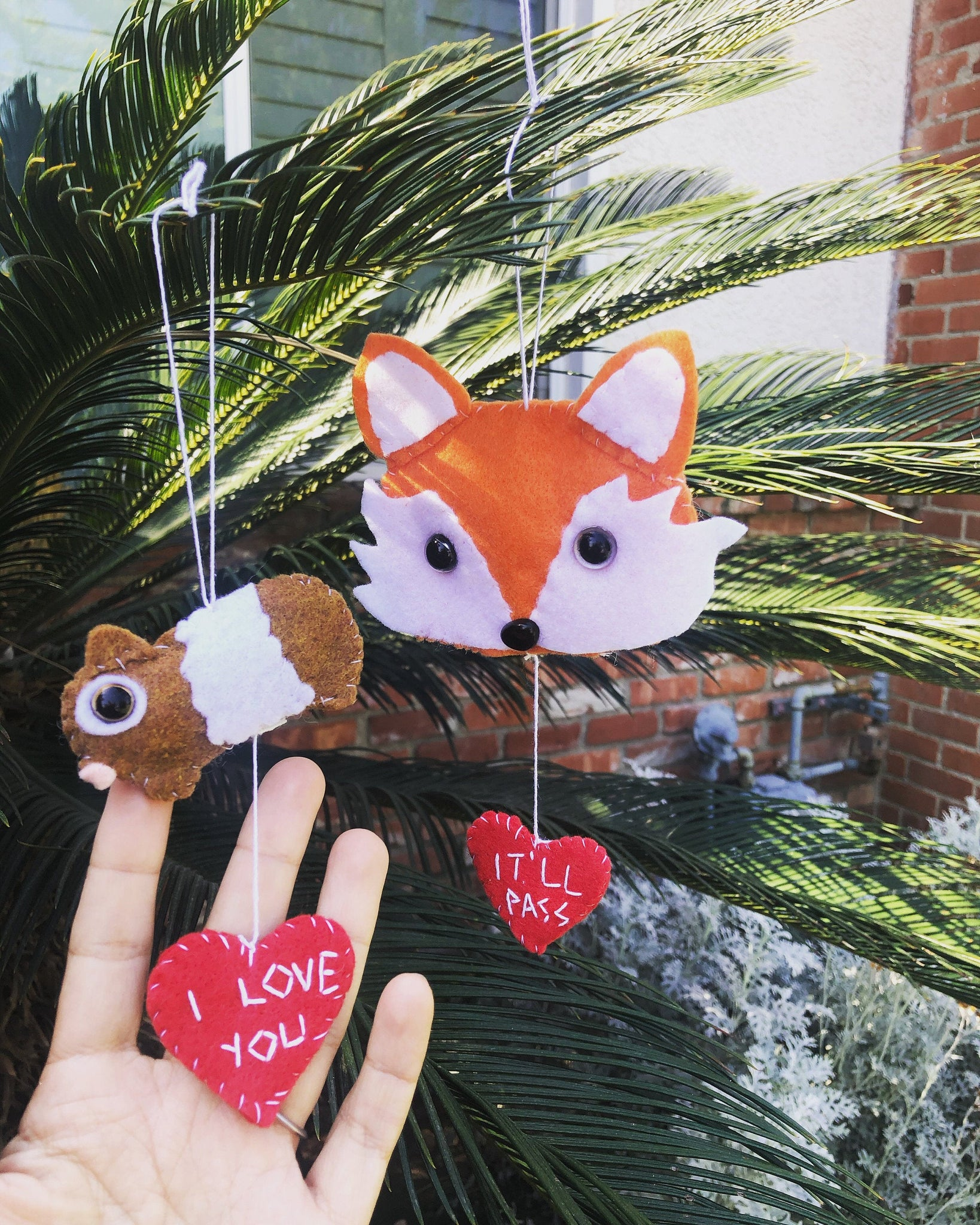 Fleabag Christmas Ornaments