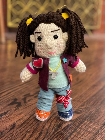 Punky Brewster inspired doll