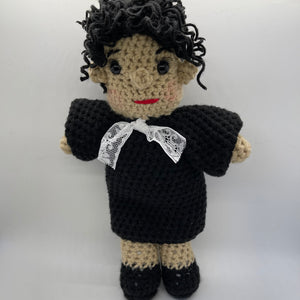 Sonia Sotomayor Crochet Doll