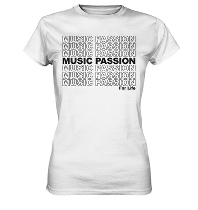 Music Passion - Ladies Premium Shirt - Musikliebe