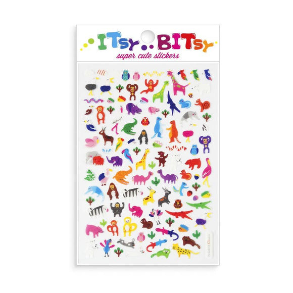 Itsy Bitsy Stickers - Jungle