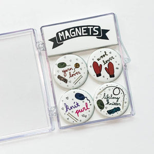 Yarn Lover Magnet Set
