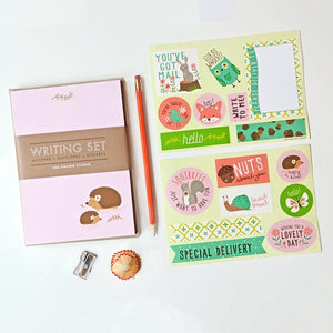 Hedgehog Writing Set