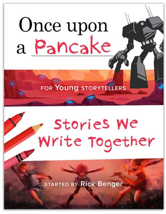 Once Upon a Pancake - For Young Storytellers