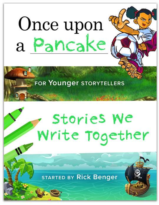 Once Upon a Pancake - For Younger Storytelers