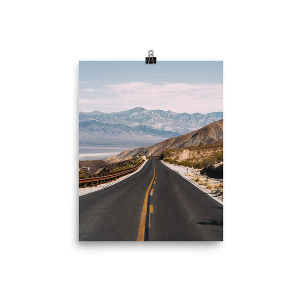 Endless Road Trips Poster