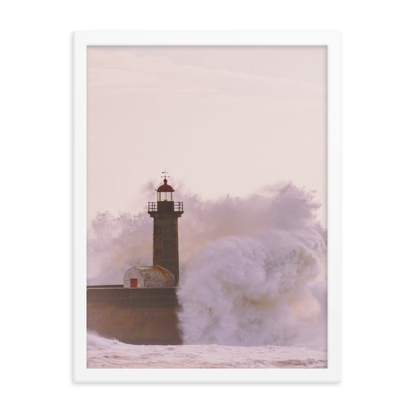 Framed Lighthouse Poster