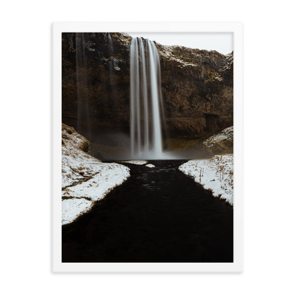 Framed Waterfall Poster