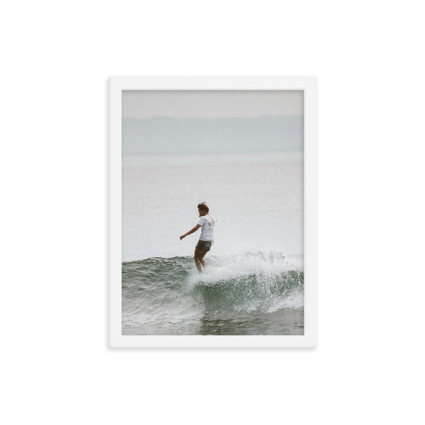 Framed Morning Surf Poster