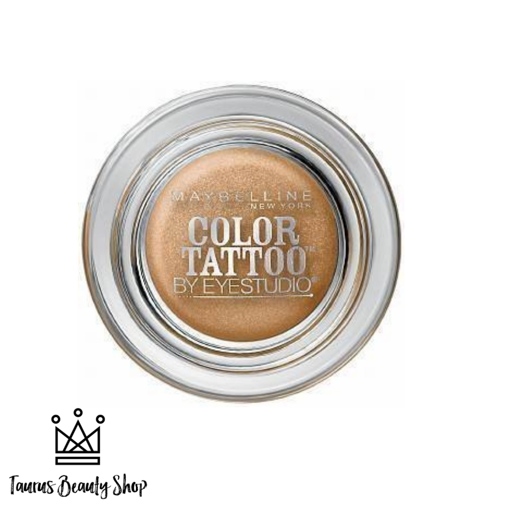Crease resistant. Fade resistant. Waterproof. Introducing our most longwearing eyeshadow yet! Color Tattoo Cream Eyeshadow pots have super saturated payoff for up to 24 hour tattoo intensity. Seamlessly melts onto lids in one easy swipe. Waterproof formula resists fading or creasing for an all day look that you can set and forget.