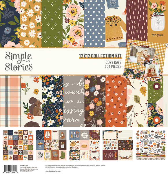 Simple Stories - Cozy Days Collection Kit