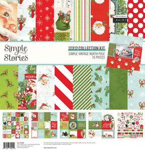 Simple Stories - Simple Vintage North Pole Collection Kit