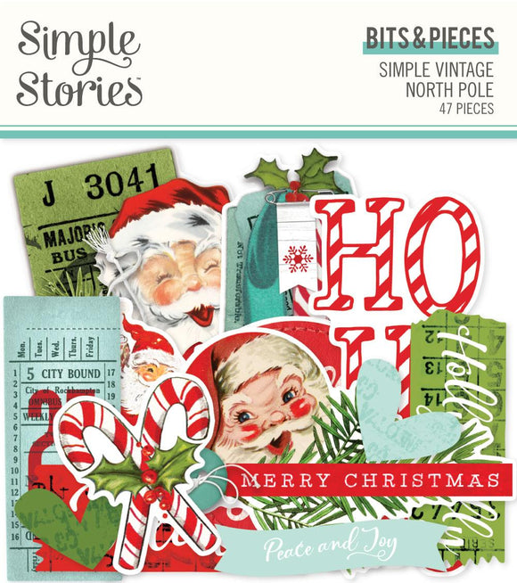 Simple Stories - Simple Vintage North Pole Bits & PIeces
