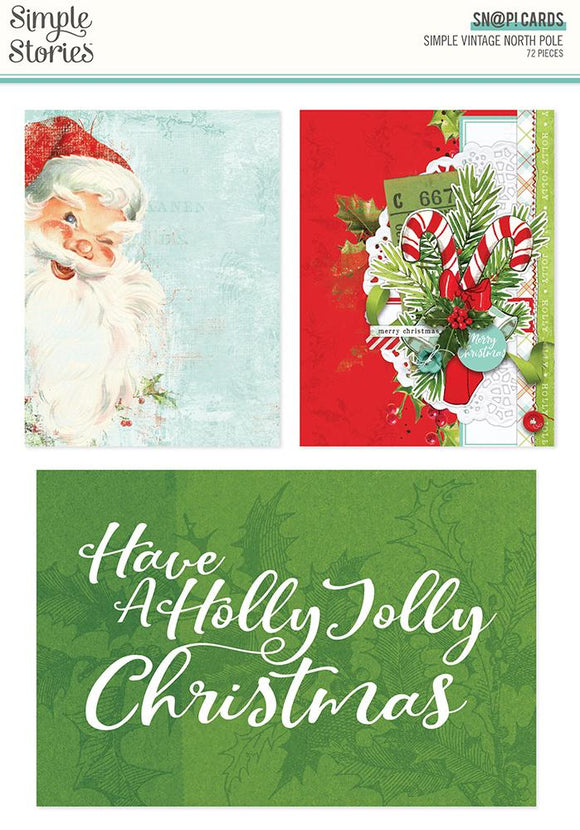 Simple Stories - Simple Vintage North Pole SN@P Cards