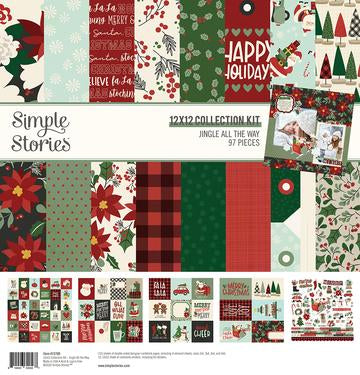 Simple Stories Jingle All the Way -  Paper Collection Kit