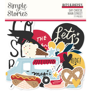 Simple Stories - Say Cheese! Mainstreet Bits & Pieces