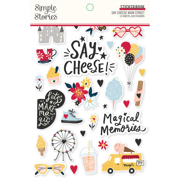Simple Stories - Say Cheese! Mainstreet Sticker Book