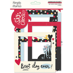 Simple Stories - Say Cheese! Mainstreet Chipboard Frames