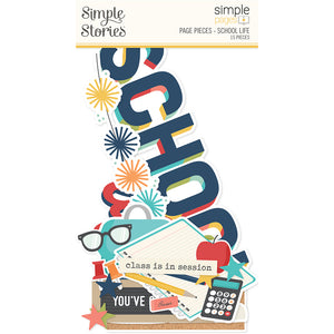 Simple Stories - Page Pieces - School Life
