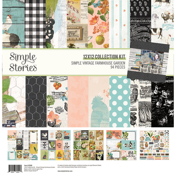 Simple Stories - Farmhouse Garden Collection Kit