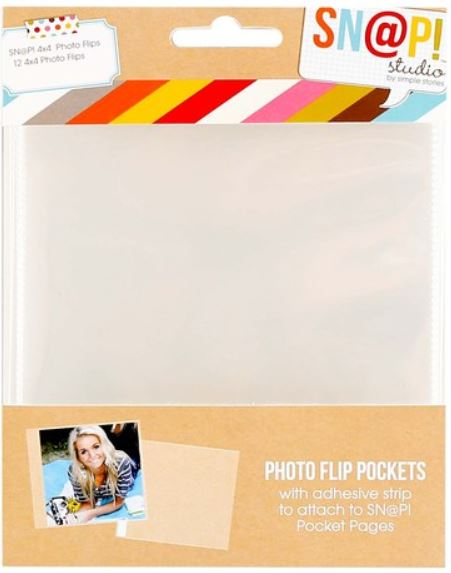 Simple Stories - SN@P Photo Flips-4x4 Pack