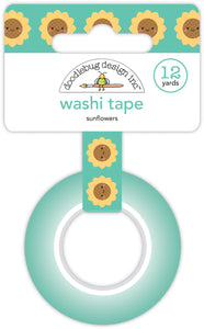 Doodlebug Pumpkin Spice - Sunflowers Washi Tape