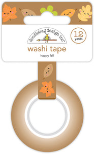 Doodlebug Pumpkin Spice - Happy Fall Washi Tape