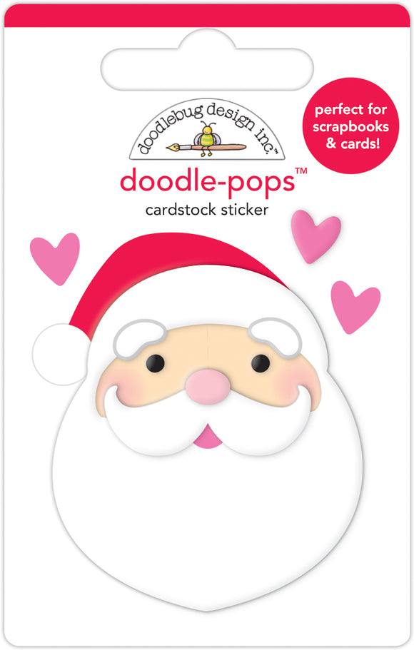 Doodlebug Night Before Christmas - I Love Santa Doodle-Pops