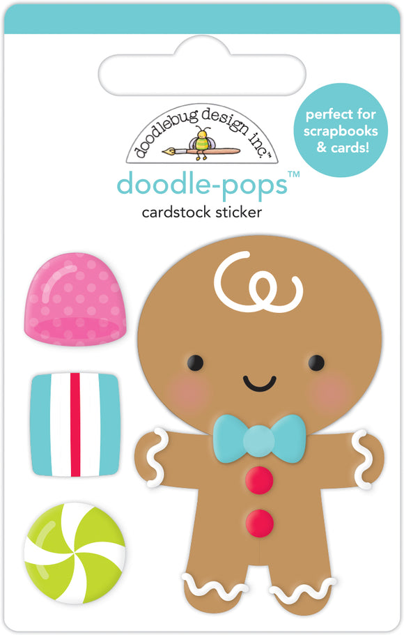 Doodlebug Night Before Christmas - Goody Goody Gumdrops Doodle-Pops