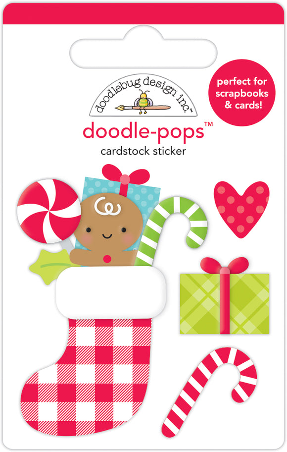 Doodlebug Night Before Christmas - Stocking Stuffers Doodle-Pops