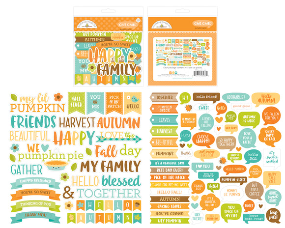 Doodlebug Designs Pumpkin Spice - Chit Chat