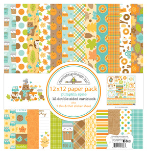Doodlebug Pumpkin Spice - Collection Paper Pack