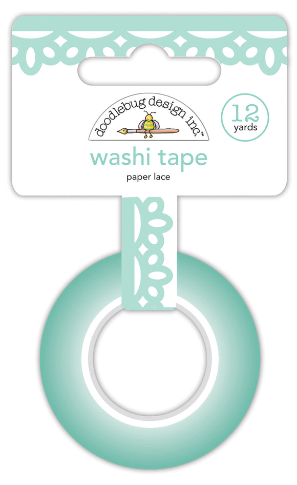 Doodlebug Made with Love - Paper Lace Washi Tape