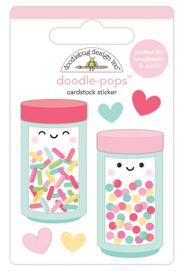 Doodlebug Made with Love - Sprinkle  Shoppe Doodle-Pop