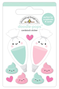 Doodlebug Made with Love - Icing on the Cake Doodle-Pop