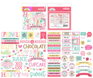 Doodlebug Made with Love - Chit Chat