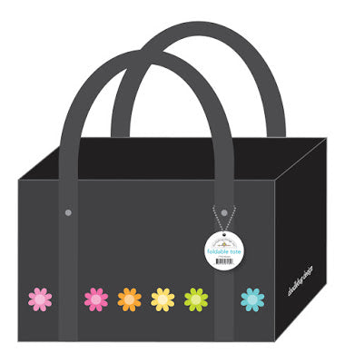 *PRE-ORDER* - Doodlebug Foldable Tote - Daisies