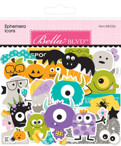 Bella Blvd - Monsters & Friends Ephemera