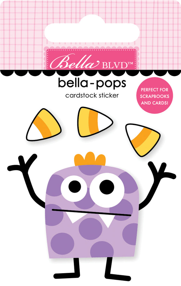 Bella Blvd - Monsters & Friends Bella Pops - Candy Bandit